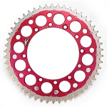 Rozeta Renthal TwinRing Chainwheels Red 1540-520 Honda CR / CRF, BETA