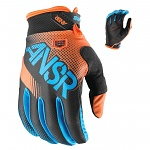MX rukavice ANSWER Syncron Glove Orange Blue 2017