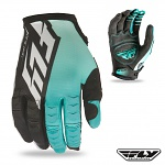 Rukavice FLY Kinetic Glove Black Teal 2016
