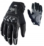 Rukavice na moto a mtb FOX Bomber Glove Black