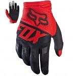 Rukavice moto a mtb FOX Dirtpaw Race Glove Red 2017