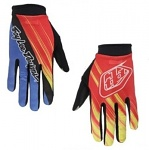 Rukavice TroyLeeDesigns ACE Glove Zink Red Yellow