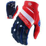 Rukavice TroyLeeDesigns AIR Glove STARS & STRIPES Red Blue 2020