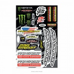 Sada nálepek ProCircuit DeLuxe Decal Sheet