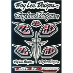 Samolepky TroyLeeDesigns Race Team Sticker Kit