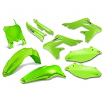 Sada plastů Cycra PowerFlow Plastic Kit Kawasaki KX250F 13-16 Green