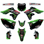 Sada polepů Bud Racing 2016 Team Kit Kawasaki KX250F 13-16