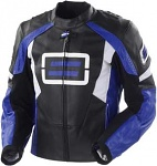 Moto bunda Shift SuperStreet Leather Jacket Blue