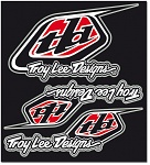 Nálepky TroyLeeDesigns Factory Sticker Kit