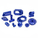 Tuningový set ZETA Billet Kit Suzuki RMZ250 RMZ450 Blue