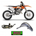 Výfuk a koncovka BUD Racing Pipe + Silencer KTM SX125 16-18 HQ TC125 16-18