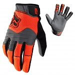 Zateplené rukavice FOX Sidewinder Polar Glove Flo Orange